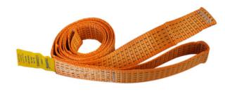 Webbing Orange 50mm x 2.6M x 2500kg Lashing Capacity Loop 200mm | 205326