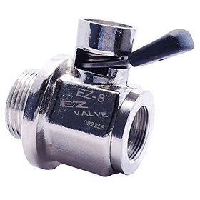 (11-9338) Easy Valve Oil Drain Valve with Removable Straight Hose End to Thermo King SB / SL / SLXi