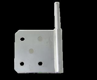 (92-1133) Hinge Curbside Door Top Hinge Thermo King SB-III Whisper / SB-100 to SB-400