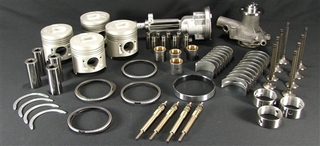 ENGINE: Isuzu DI / SE 2.2  Please Specify What Size Bearings & Pistons When Ordering TK-10-2-2DI ENGINE KIT 2.2 DI Australian after market part