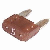 Fuse mini 5amp 32v tan TK-41-4551 Fuse mini 5amp 32v tan Australian after market part
