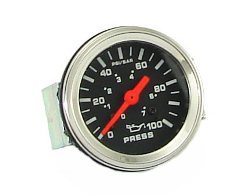 Gauge oil pressure