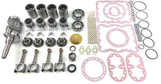 X426LS w/large crankshaft Overhaul Kit with New Crankshaft and Conn Rods