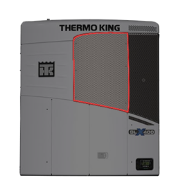 Cover SLX THERMO KING 98-7915, 987915, 987-915 98-9039 989039  Top / Central / Front Pannel THERMO KING SLX 400 SLX Whisper / 400e / 300 / 200 / 400 50 / 100 This part is compatible or replaces part numbers:  THERMOKING, 98-7915, 987915, 987-915 989039, 98-9039 Australian after market part