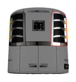 S600 GRILLE CURB SIDE CHROME THERMO KING PRECEDENT 610DE 600M / S-600 / S-700 / S-700 smartpower / 600M 610M / C-600 Australian after market part