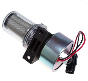 Facet 12V Fuel Pump (41-7059) Glass Bowl Thermo King Diesel Units