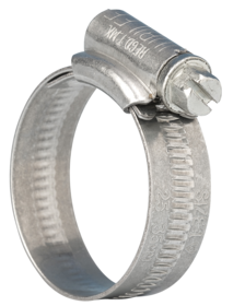 1MS Jubilee Clip 1 Mild Steel Zinc Plated 25-35mm
