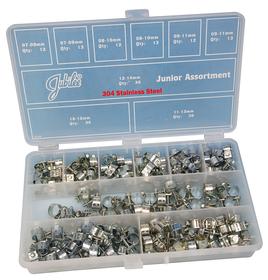 JB-JA165SS Jubilee Junior Asst Pk 304 Stainless Steel 165pcs