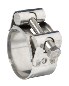 JB-JSC025SS316 Jubilee Superclamp 316 Stainless Steel 23-25mm (Highest Corrosion Resistance)