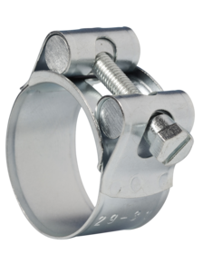 JSC028MS Jubilee Superclamp Mild Steel Zinc Plated 26-28mm