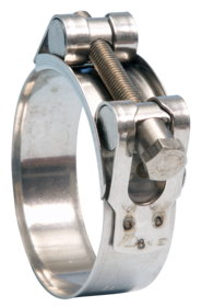 JB-JSC079SS316 Jubilee Superclamp 316 Stainless Steel 74-79mm (Highest Corrosion Resistance)