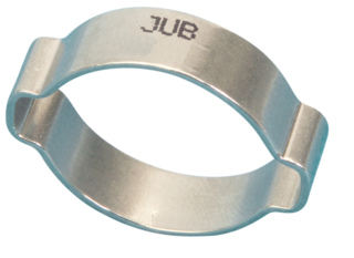 OC0507MS Jubilee O Clip 2-ear Mild Steel Zinc Plated 5-7mm