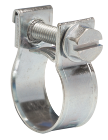 JB-NB1315MS Jubilee Junior Clip Mild Steel Zinc Plated 13-15mm