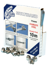 JB-MB1806 Multiband 304 Stainless Steel 11mm Handy Pack