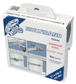 JB-MB1807 Multiband 304 Stainless Steel 11mm Pocket Pack